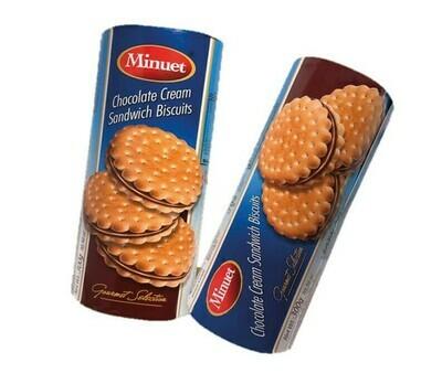 Minuet Chocolate Cream Sandwich Biscuits