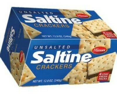 Saltine Crackers (Unsalted)