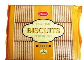 Tea Time Biscuits (Butter)