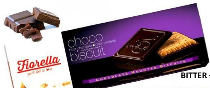 Fiorella Dark Chocolate Biscuit