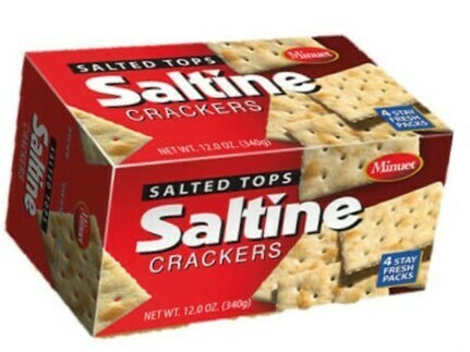 Saltine Crackers (Salted)