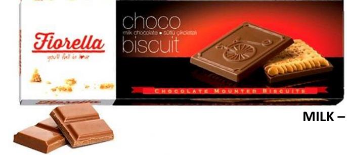 Fiorella Milk Chocolate Biscuit