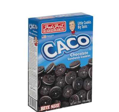 CACO Chocolate Sandwich Cookies