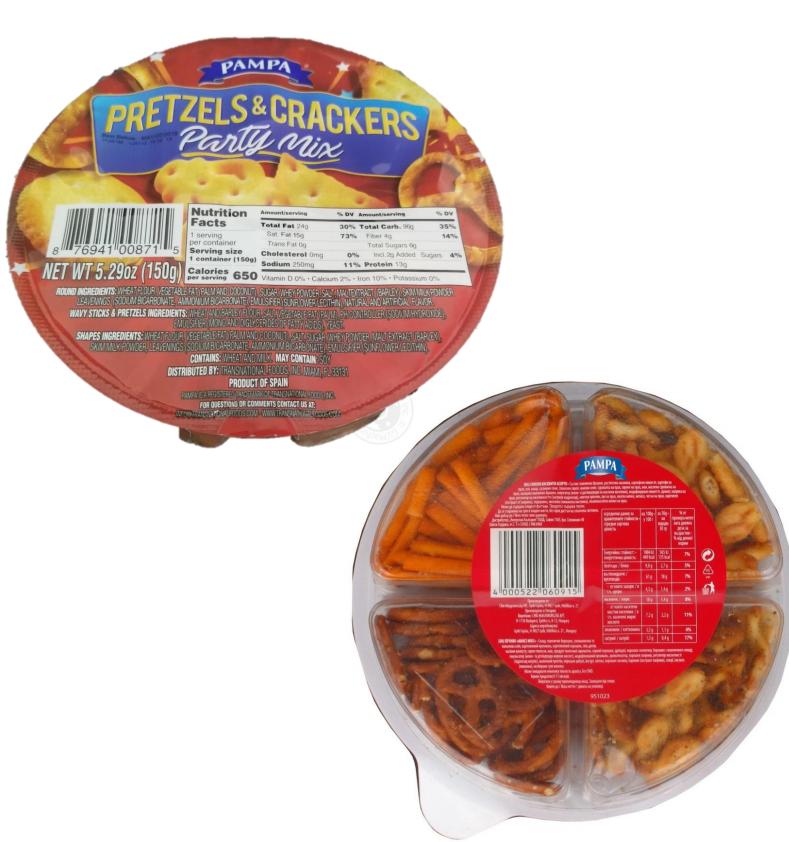 Pretzels & Crackers Party Mix