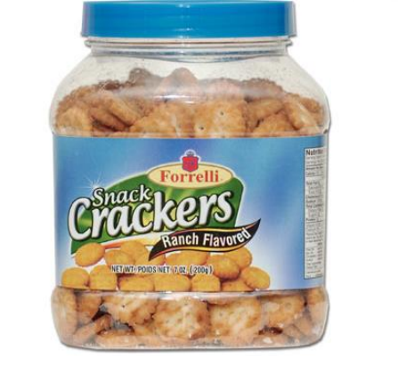 Forrelli Snack Crackers (Ranch)