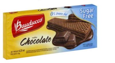 Bauducco Sugar Free Chocolate Wafer