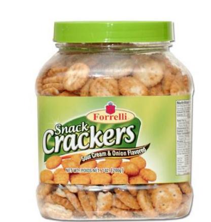 Forrelli Snack Crackers (Sour Cream & Onion)