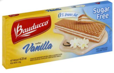 Bauducco Sugar Free Vanilla Wafer