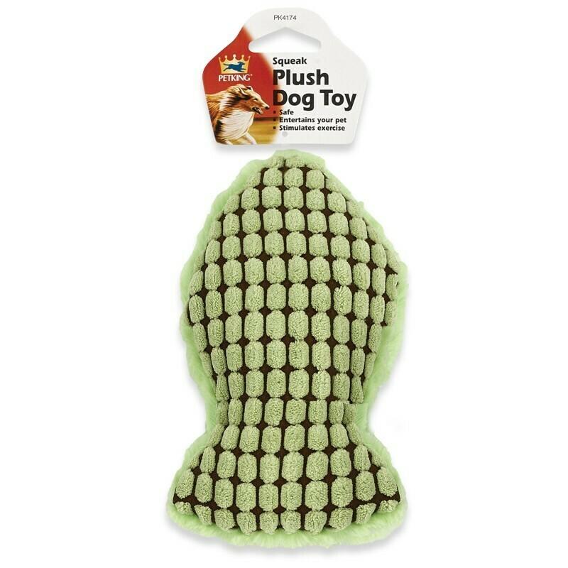 Plush Dog Toy - Green