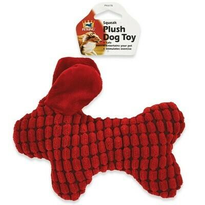 Plush Dog Toy - Red