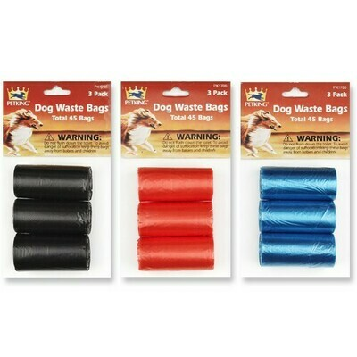 3 Rolls Disposable Bags