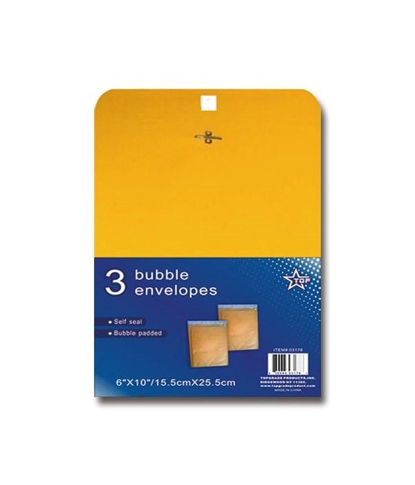 Bubble Envelope (3 Pack)