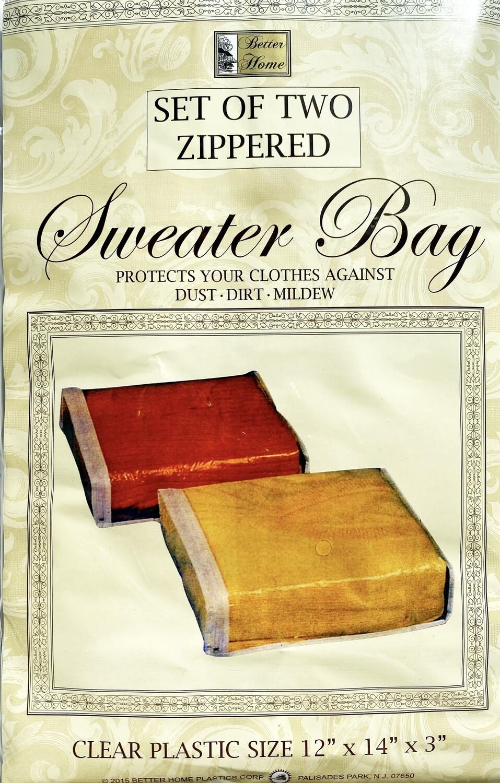 Zippered Sweater Bag