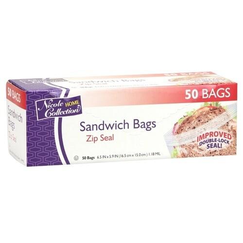 50 Sandwich Bags