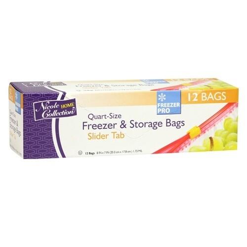 12 Freezer & Storage Bags