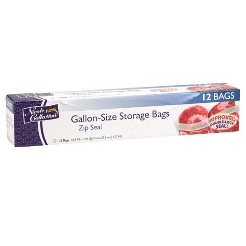 12 Gallon-Size Storage Bags