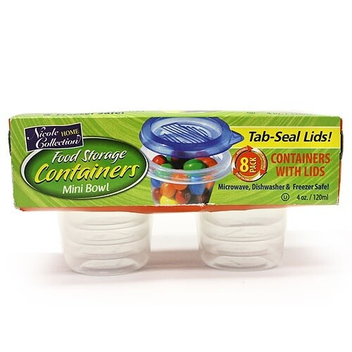 8 Round Container with Lids