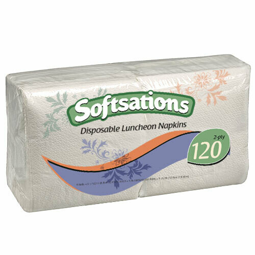 120 Luncheon Napkins 2 ply
