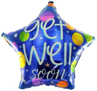 Get-Well Soon with Balloons