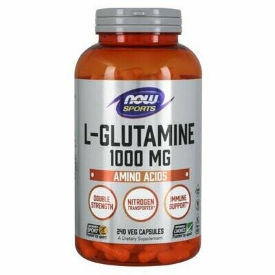 NOW Glutamine 1000mg 240caps