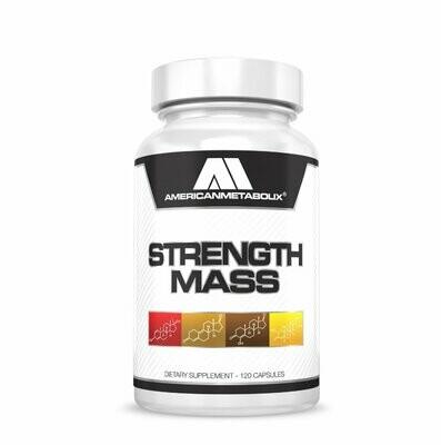 American Metabolix Strength Mass Quad Stack 120 Caps