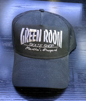 Green Room Thrasher Hat Black