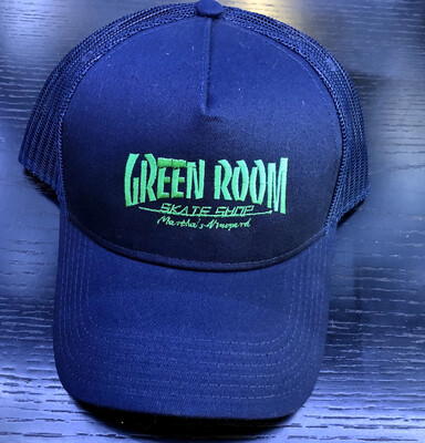 Green Room Thrasher Hat Navy/Green