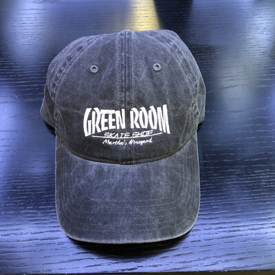 Green Room Thrasher Hat Washed Black