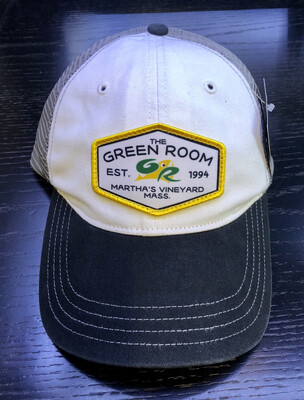 Green Room Logo Washed Trucker White/Gry/Blk