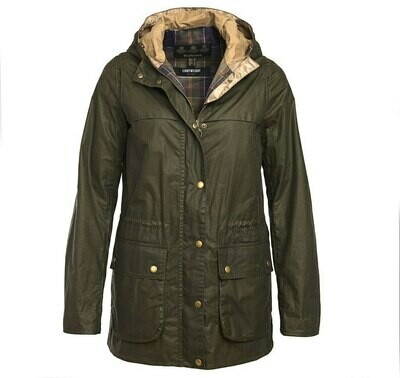 Barbour W's LW Durham Waxed Jacket