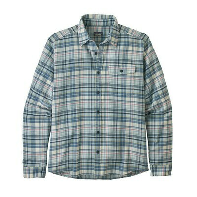 Patagonia M's Lightweight Fjord Flannel Shirt Collective/Big Sky Blue