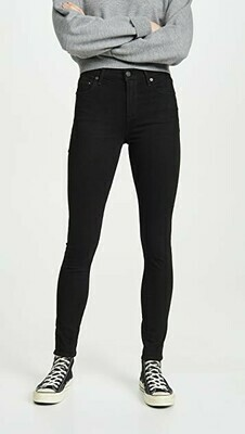 Citizens of Humanity Rocket Midrise Skinny Plush Black