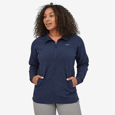 Patagonia W's R1 Tech Face Jacket Classic Navy
