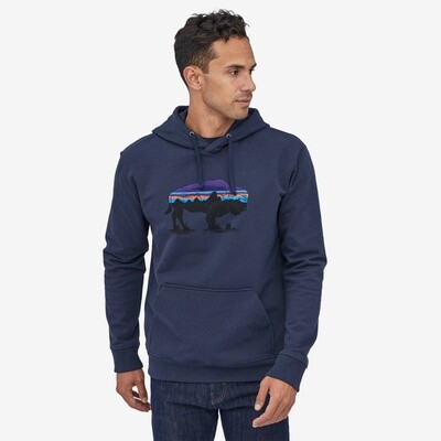 Patagonia M's Fitz Roy Bison Uprisal Hoody Classic Navy