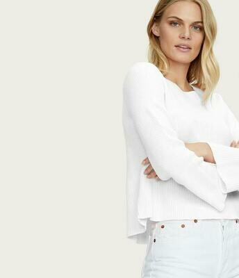 Michael Stars Vanessa Swing Sweater White