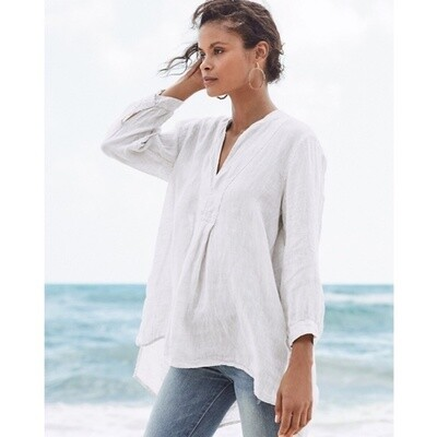 CP Shades Dakota Linen Tunic Top
