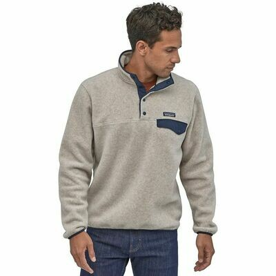 Patagonia Lightweight Synch SNap-T Pullover Oatmeal Heather