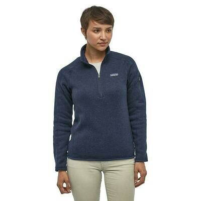 Patagonia W's Better Sweater 1/4 Zip Pullover MULTIPLE COLORS AVAILABLE