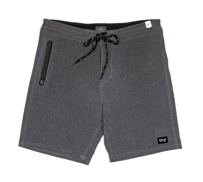 Green Room Go-To Boardshort Charcoal