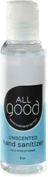 All Good 2 oz Hand Sanitizer Gel