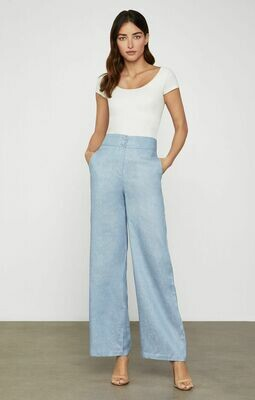 BCBG Linen Chambray Sailor Pant