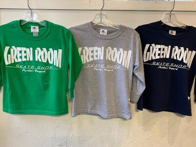 The Green Room Thrasher Kid's Long Sleeve T