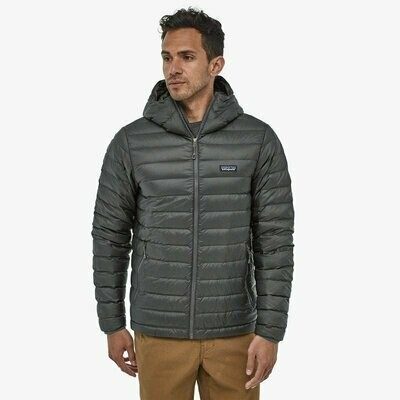 Patagonia M's Down Sweater Hoody Forge Grey