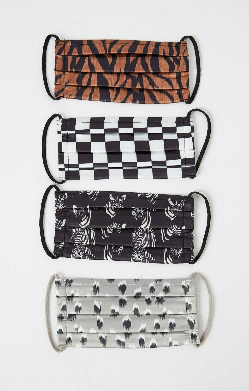 Z Supply Safairi Satin Mask 4 Pack ADULT