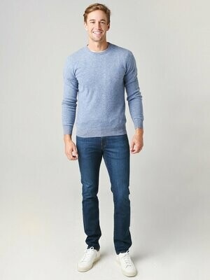 Naadam M's Recycled Cashmere Crew Neck Sweater MULTIPLE COLORS AVAILABLE
