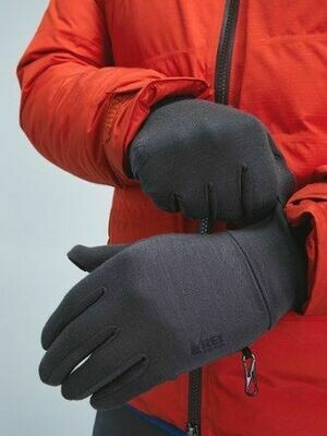 Hestra Unisex Merino Wool Liners Charcoal