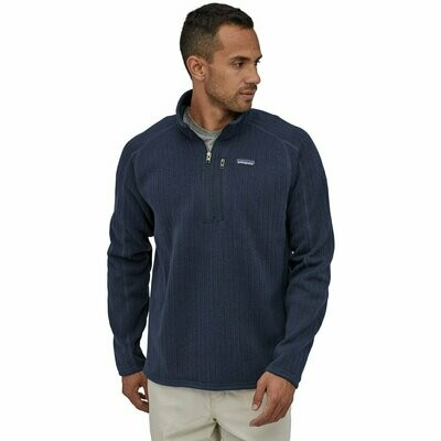 Patagonia M's Better Sweater Ribbed 1/4 Zip  MULTIPLE COLORS AVAILABLE