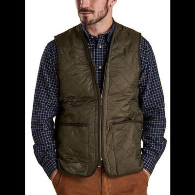 Barbour M's Polarquilt Wastecoat Zip In Liner Vest Olive