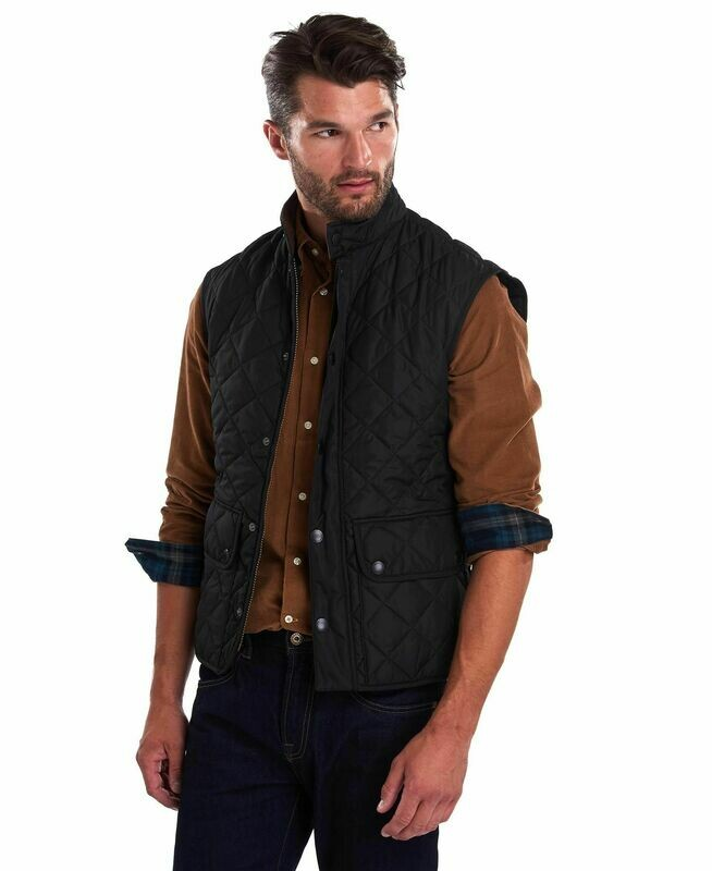Barbour M's Lowerdale Gilet Quilted Vest Black