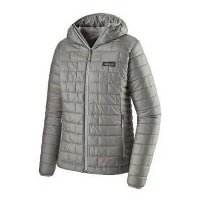 Patagonia W's Nano Puff Hoody Feather Grey